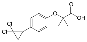 Human PPARα agonist, Ciprofibrate (Modalim)