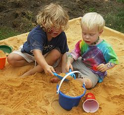 The term Sandbox comes from a child's sandbox or sandpit for safe play.